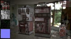 ArtStation - nuka cola, david garrett