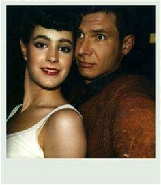 Kollegen-Paar:  Das private Polaroid von Sean Young zeigt die Schauspielerin...