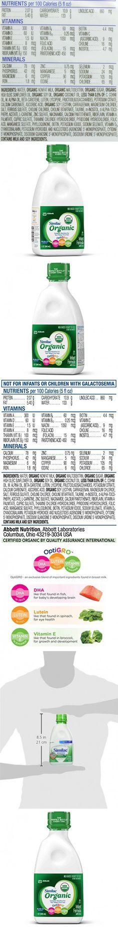 Similac Organic Ready to Feed, 32 Fluid Ounce