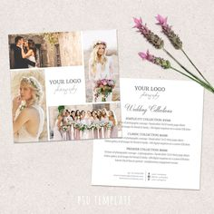 Wedding photography price list template. Marketing & advertising template pricing guide. Fully editable PHOTOSHOP PSD files. by PenguinGraphics on Etsy