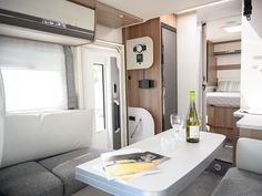 Photo of Dethleffs motor home interior in the living area Creative Video, Video Capture, Content Marketing Strategy, Video Editing, Videography, Living Area, Commercial, Interior, Photography