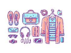 Сlothes by Zina Yakupova  #Design Popular #Dribbble #shots