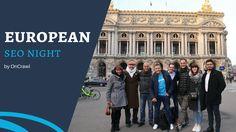 The Sunday Talk - European night by OnCrawl Seo, Sunday, Night, Domingo