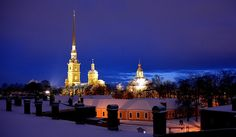 An evening look at Peter and Paul Fortress.  Photographer Victor Fair