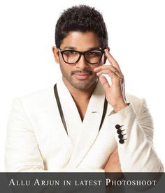 Allu Arjun in Recent Photoshoot