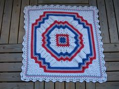 http://www.ravelry.com/projects/Pusen/crocheted-country-star-afghan Ravelry: Project Gallery for Rainbow Set: Blanket pattern by Helen Passey