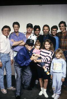 Full House Cast With The Beach Boys
