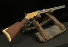 Though it is a misnomer that Oliver F. Winchester invented the Henry Rifle, he was an inventive businessman embracing new ideas, processes, and research to create one of the most legendry firearms manufacturers in United States history. Henry Rifles, Lever Action Rifles, Battle Rifle, Fire Powers, Hunting Rifles, Cool Guns, Le Far West, Guns And Ammo, Firearms