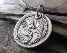 Personalized Silver Jewelry, Everlasting, Artisan Fine Silver Metal Clay Pendant, Vines and Leaves Jewelry Shop, Custom Jewelry, Jewelry Art, Silver Jewelry, Fine Jewelry, Jewelry Making, Silver Rings, Diamond Jewelry, Dainty Jewelry