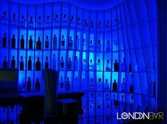 iluminación de bares.