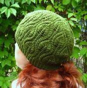 Foliage Hat - via @Craftsy