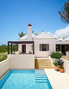 tom scheerer's bahamas vacation home from AD