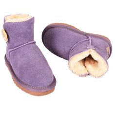 Always Pretty Winter Cotton Boot Warm Snow Boots Shoes (Toddler/Little Kid) purple 1.5 M US Little Kid. Synthetic Suede. Soft Rubber soled toddler little girls boys boots. Composition: ?All Man Made Materials;little kids warm snow boots. Winter non-slip snow boots for girl boy. Best toddler little children snow boots for gift.