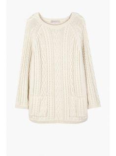 #paulandjoesister #termido #ecru #cotton #knit with #pockets new in for #ss14 www.alceshop.com