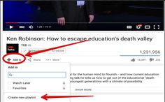 7 important YouTube Tips for Teachers ~ Educational Technology and Mobile Learning