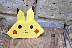 Easy Pikachu Craft for Pokémon Lovers