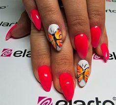 Created by: -Lacogel 403: https://elarto.pl/lakierozel-kolorowy-z-brokatem/7110-elarto-lakier-hybrydowy-lakierozel-kolorowy-lacogel-hybrid-nail-color-nr-403-bordowy-15ml.html -Lacogel 400: https://elarto.pl/lakierozel-kolorowy-z-brokatem/7107-elarto-lakier-hybrydowy-lakierozel-kolorowy-lacogel-hybrid-nail-color-nr-400-snieznobialy-15ml.html -GelPolish 705: https://elarto.pl/zel-kolorowy/10486-zel-hybrydowy-gelpolish-nr-705-oranz-neon-15ml.html
