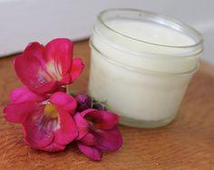 DIY Natural Homemade Body Cream Recipe with Rose and Ylang Ylang for Natural Beauty