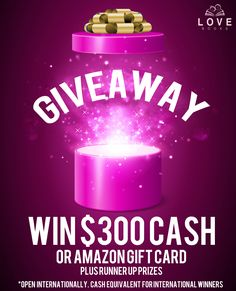 $300 Amazon gift card to be won!