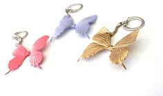 DIY Butterfly Key Ch