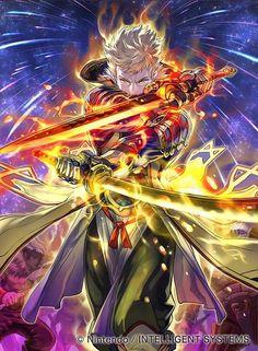 Post with 3768 views. Fantasy Male, Dark Fantasy Art, Owain Fire Emblem, Fantasy Character Design, Character Art, Fire Emblem Radiant Dawn, Systems Art, Free Artwork, Fire Emblem Games
