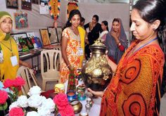 A scene from the Ladies Fest organised by the Calicut City Service Cooperative Bank in Kozhikode - A potpourri of art, craft, fashion