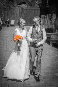 Pretty Lauren looking lovingly happy in the 'Francesca' gown ... Stunning photo! | Wedding dress | Love | Happily married | Newly weds | Amanda Wyatt |