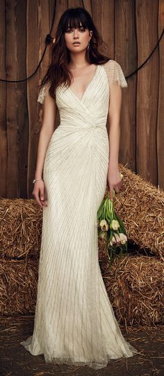 chic jenny packham gown