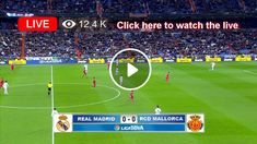 Watch the live match of LaLiga between Real Madrid and Real Mallorca online for free. Live Matches, Real Madrid, Places To Visit, Watch, Sports, Projects, Free, Hs Sports, Log Projects