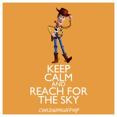 Keep Calm & Reach For The Sky