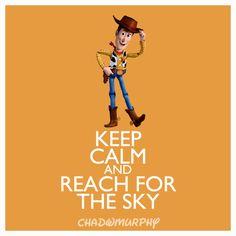 Keep Calm  Reach For The Sky