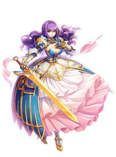 Female Royal Guard New Costume Official Illustration