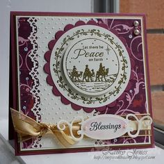 Just Rite Old Fashion Christmas and Christmas treasure with Spellbinders dies