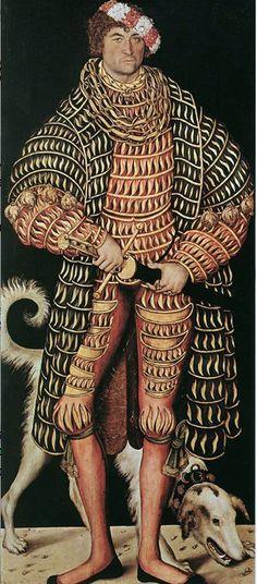 HENRY IV the Pious (1473-1541), Duke of Saxony Portrait: Lucas Cranach the Elder