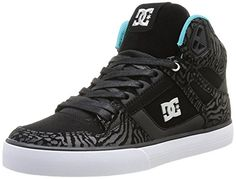 Hip Hop Shoes, Skateboard, Trainers, Aqua, Lace Up, Sneakers, Black, Top, Suit