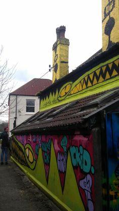 Graffiti down the wergs - bristol