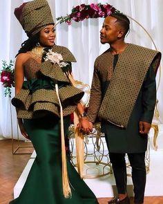 Zulu Traditional Wedding Dresses, Sotho Traditional Dresses, Traditional Dresses Designs, African Fashion Traditional, Traditional Outfits, Couples African Outfits, African Dresses For Kids, African Prom Dresses, Latest African Fashion Dresses