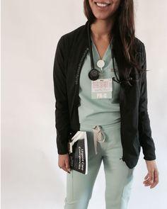 Your source for nurse reference cards badge holders & reels Cute Nursing Scrubs, Cute Scrubs, Nursing Clothes, Nursing School Motivation, Nursing Goals, Medical Dental, Medical Scrubs, Medical School, Stylish Scrubs