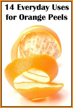14 Everyday Uses for Orange Peels -DIY from Wendys Hat Boil Orange Peels, Orange Peels Uses, Organic Cleaning Products, Homemade Beauty Products, Diy Home Supplies, Organic Fruit, Spring Cleaning, Good To Know, Cleaning Hacks