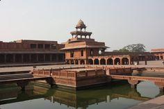 Дворец Акбара в Фатехпур-Сикри