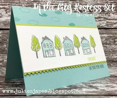 Julie Kettlewell - Stampin Up UK Independent Demonstrator - Order products In the City Host Stamp Set