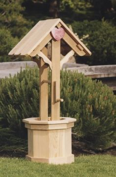 Wishing Well 60in by All Things Cedar. $255.15. 8 Sided Tub; Scallop Design; Functional Crank. 22 x 22 x 60. Used as a Planter or Ornamental Cover For Tree Stumps and Water Mains. Tub: 17 x 17 x 17. Excellent For Weddings. Cedar Wishing Well Quality Craftsmanship & Design Our dedicated craftsmen start with the finest interior grown Western Red Cedar available to hand produce quality outdoor patio furniture that can be enjoyed for many years. A convenient solution to cover ...