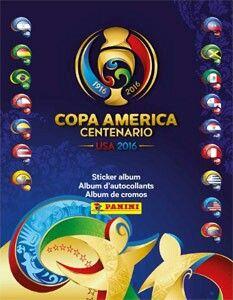 2016 Copa America sticker album by Panini.