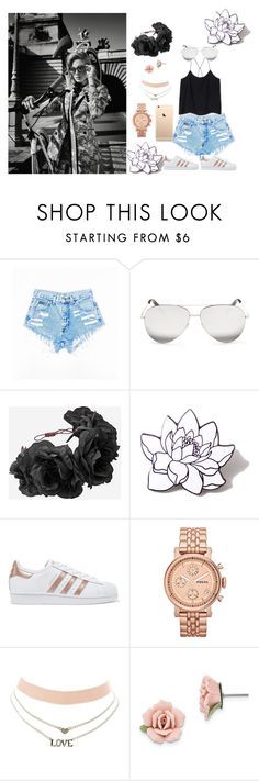 """""""love the south"""" by laylacanty ❤ liked on Polyvore featuring Burton, Victoria Beckham, PINTRILL, adidas Originals, FOSSIL, Charlotte Russe and 1928"""