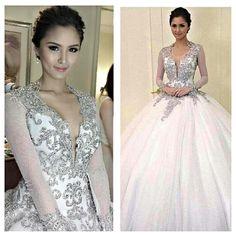 Kim Chiu's gown
