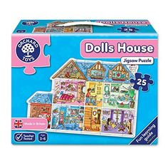 Doll House Floor Puzzle (25 Piece)