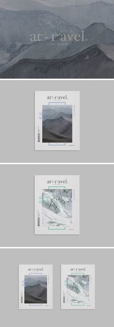 Magazine design in 2014  「 感官之旅 」by Minvoke
