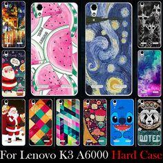 Case para lenovo k3 a6000 a6010 teléfono móvil de plástico duro máscara case cubierta protectora de la piel máscara para lenovo k3 a6000 un 6010