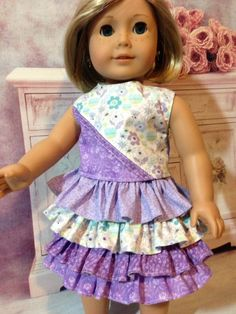 American Girl Doll Clothes Handmade 3 by Sweetlittlethingsbys