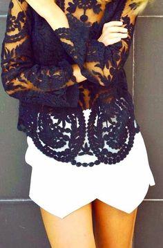 Black lace  - My Fash Avenue